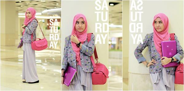 Pakaian Baju Muslimah Untuk Kuliah Fashion Terkini