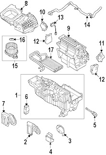 Diagrams     Ford       Taurus    X 2008 Evaporator Parts