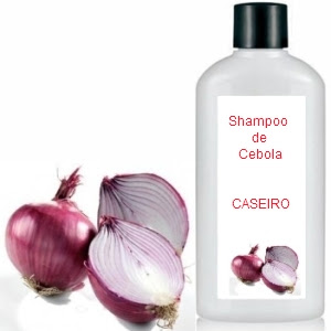 shampoo de cebola caseiro, formula do shampoo de cebola