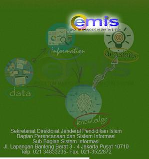Pemutakhiran Data EMIS Semester Ganjil Tahun 2015/2016