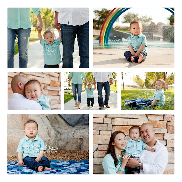 Baby D's First Birthday Pictures