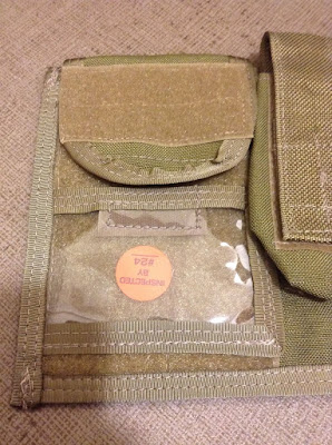 LONDON BRIDGE TRADING LBT-6064B TAN LARGE ADMIN POUCH