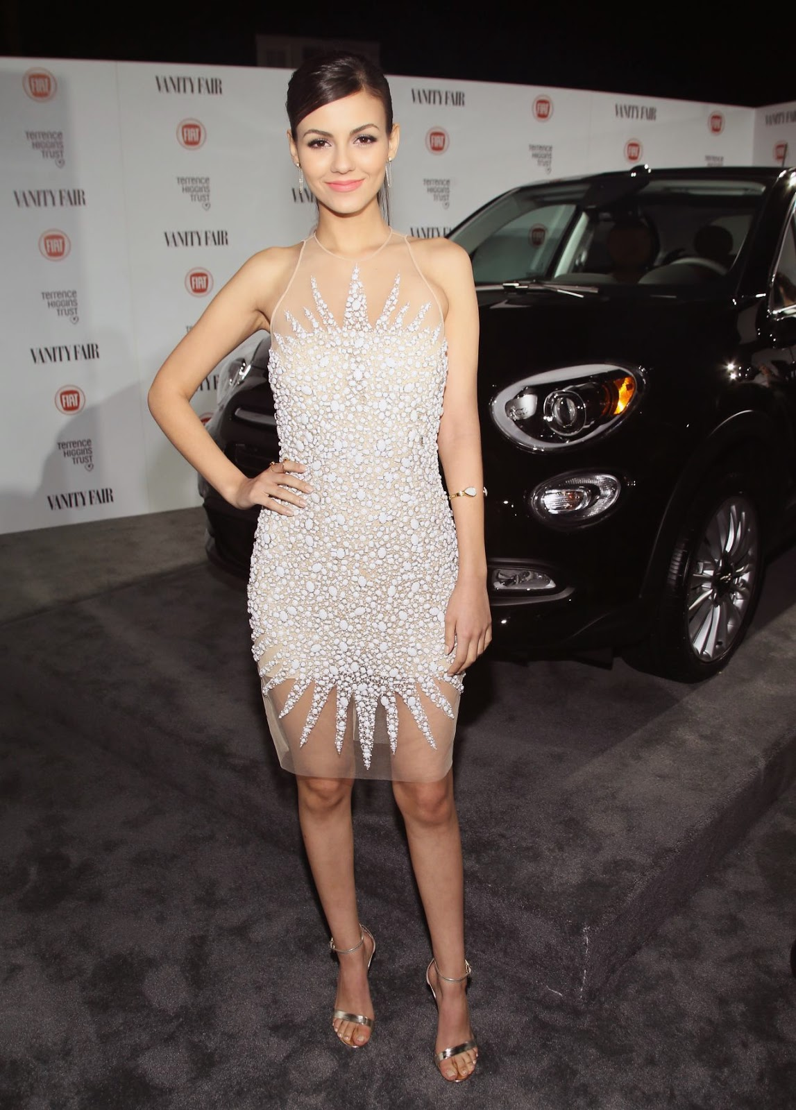 Victoria Justice at the Vanity Fair and Fiat Celebration of Young Hollywood in LA