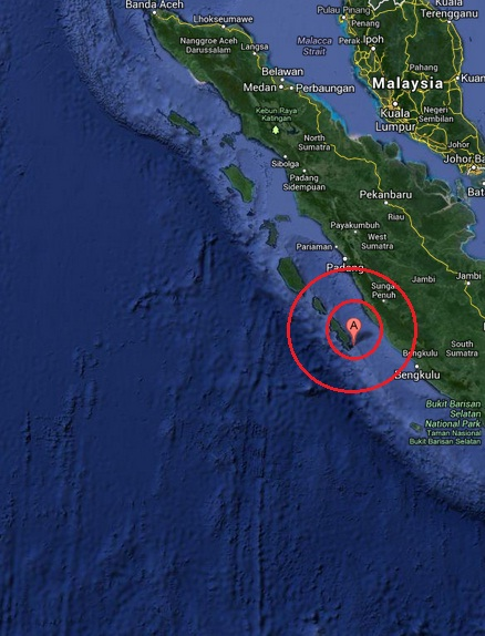 sungaipenuh, indonesia earthquake 2013 July 05
