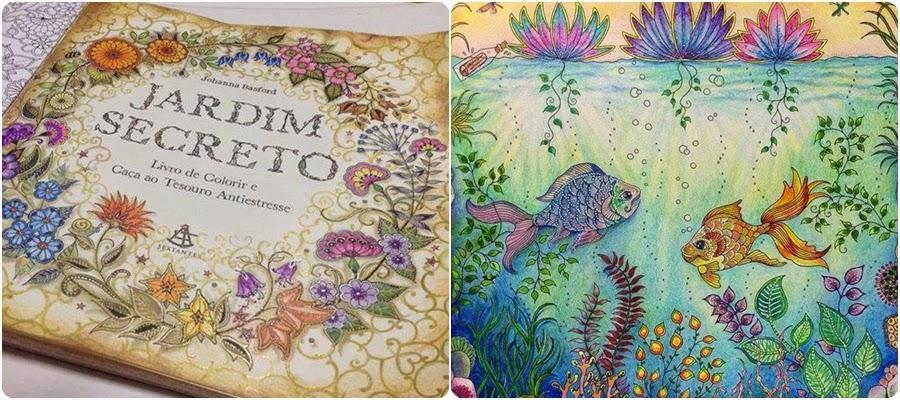 ideias para pintar livro jardim secreto : ideias para pintar livro jardim secreto:uma verdadeira genia em criar um livro como esses de pintura para