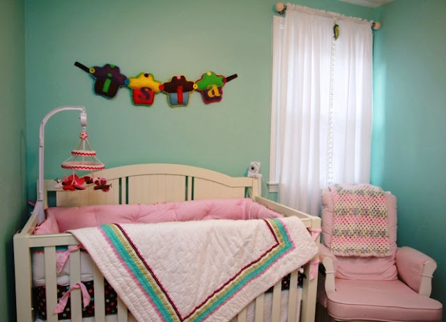 paint color ideas for girl nursery