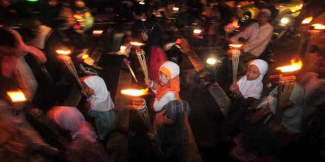 Listrik padam, malam Idul Adha di Makassar sepi suara takbiran