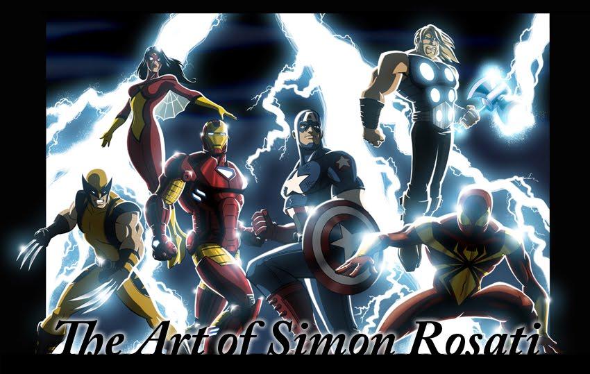 The Art of Simon Rosati