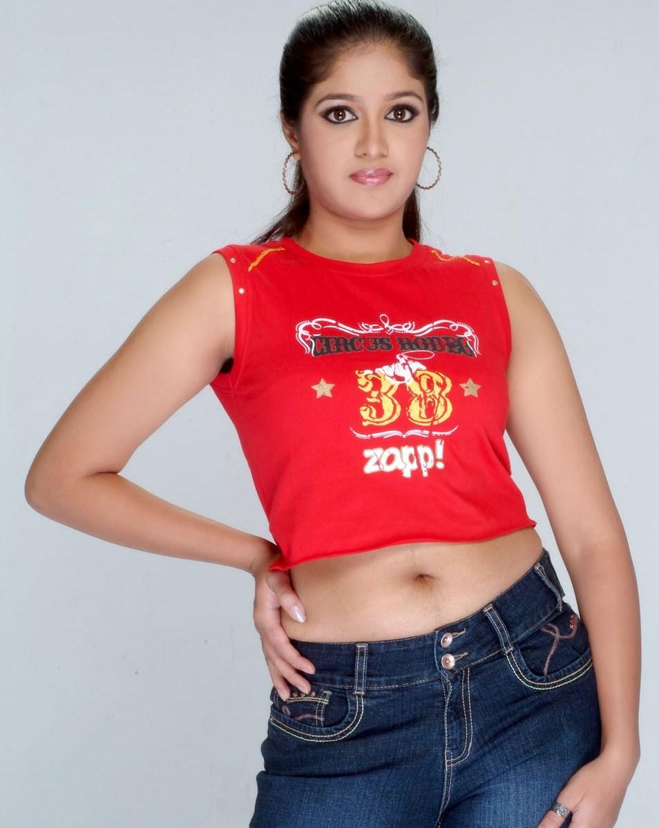 Actress Navel - Meghna Raj | Navel Collection - Desi Girls