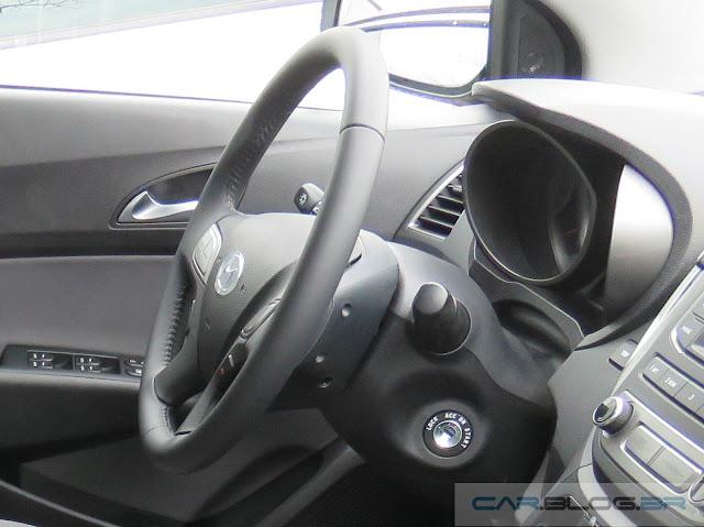 Novo Hyundai HB20 2016 Premium - interior