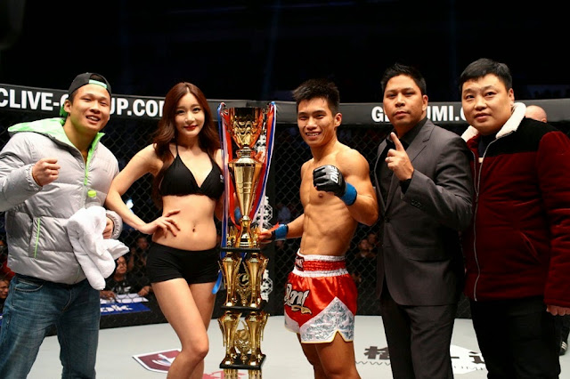 Li Wei Bin Beijing Flyweight Tournament Final Winner ONE FC 24 Dynasty of Champions Han Ji Eun Victor Cui
