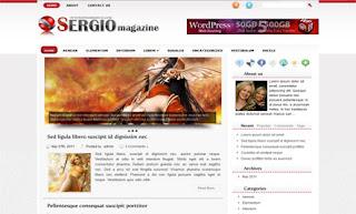 Sergio WordPress Theme