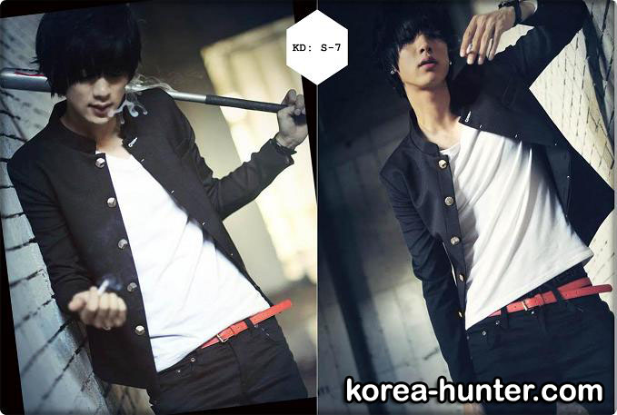 KOREA-HUNTER.com jual murah Gakuran School Premium Edition | kaos crows zero tfoa | kemeja national geographic | tas denim korean style blazer