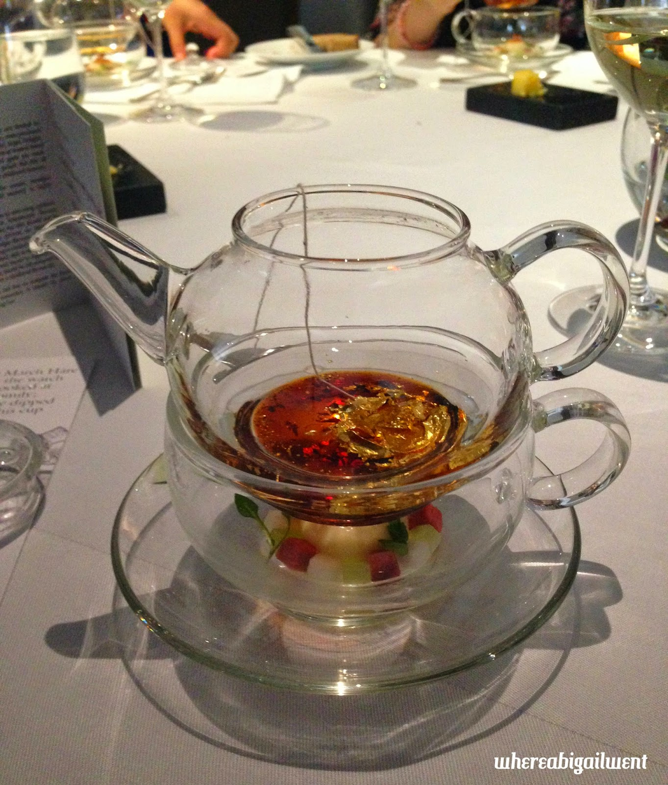 Mock Turtle Soup at The Fat Duck