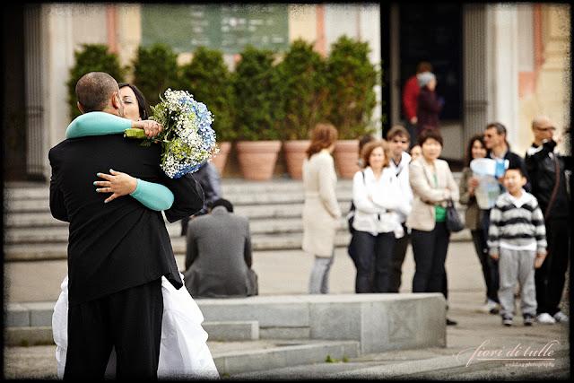 foto matrimonio Piazza de Ferrari Genova