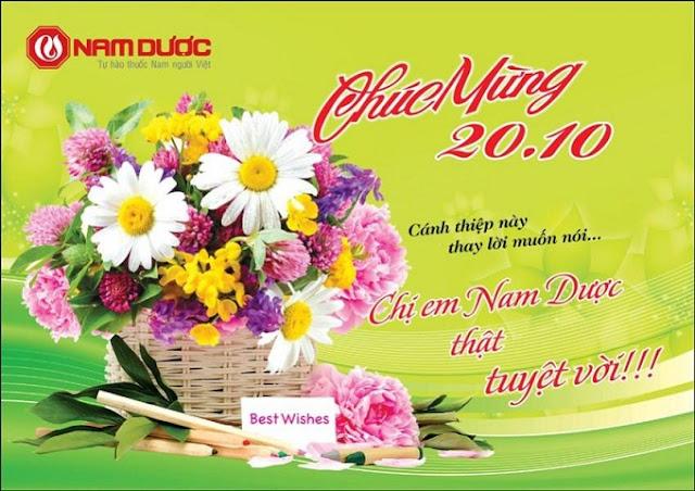 Tuyển tập những lời chúc mừng 20-10 hay nhất, lãng mạng ngày phụ Nữ Việt nam