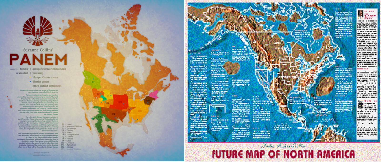 Race Lies Hunger Games Catching Fire Would Turning America Into - Hunger games mapped on us