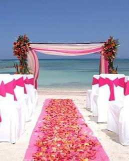 Decoração para Casamento Rosa