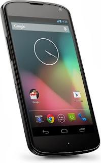 Harga Terbaru Hp LG Google Nexus 4 E960 dan Spesifikasi