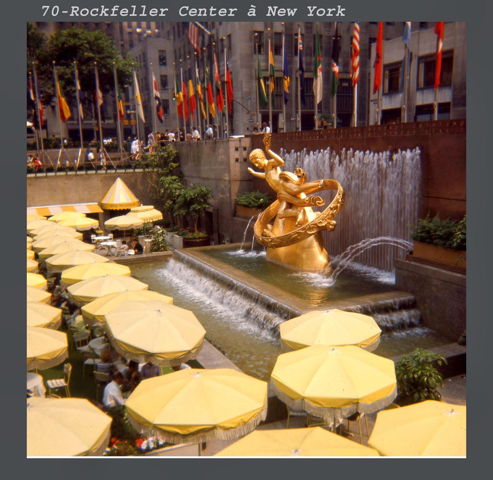 Rockefeller Center 1970