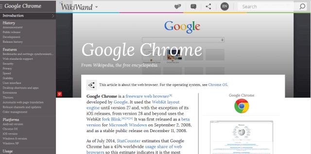Mejora la Wikipedia con Wikiwand