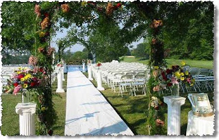 Luxurious Outdoor Country Wedding Decoration