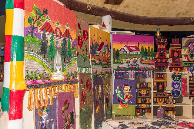 textile wall art rajasthan