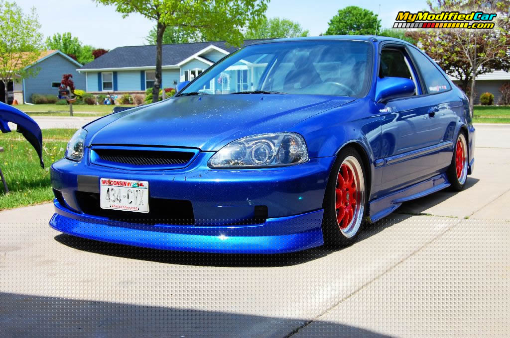 modified honda civic cars the image kid has it. Black Bedroom Furniture Sets. Home Design Ideas