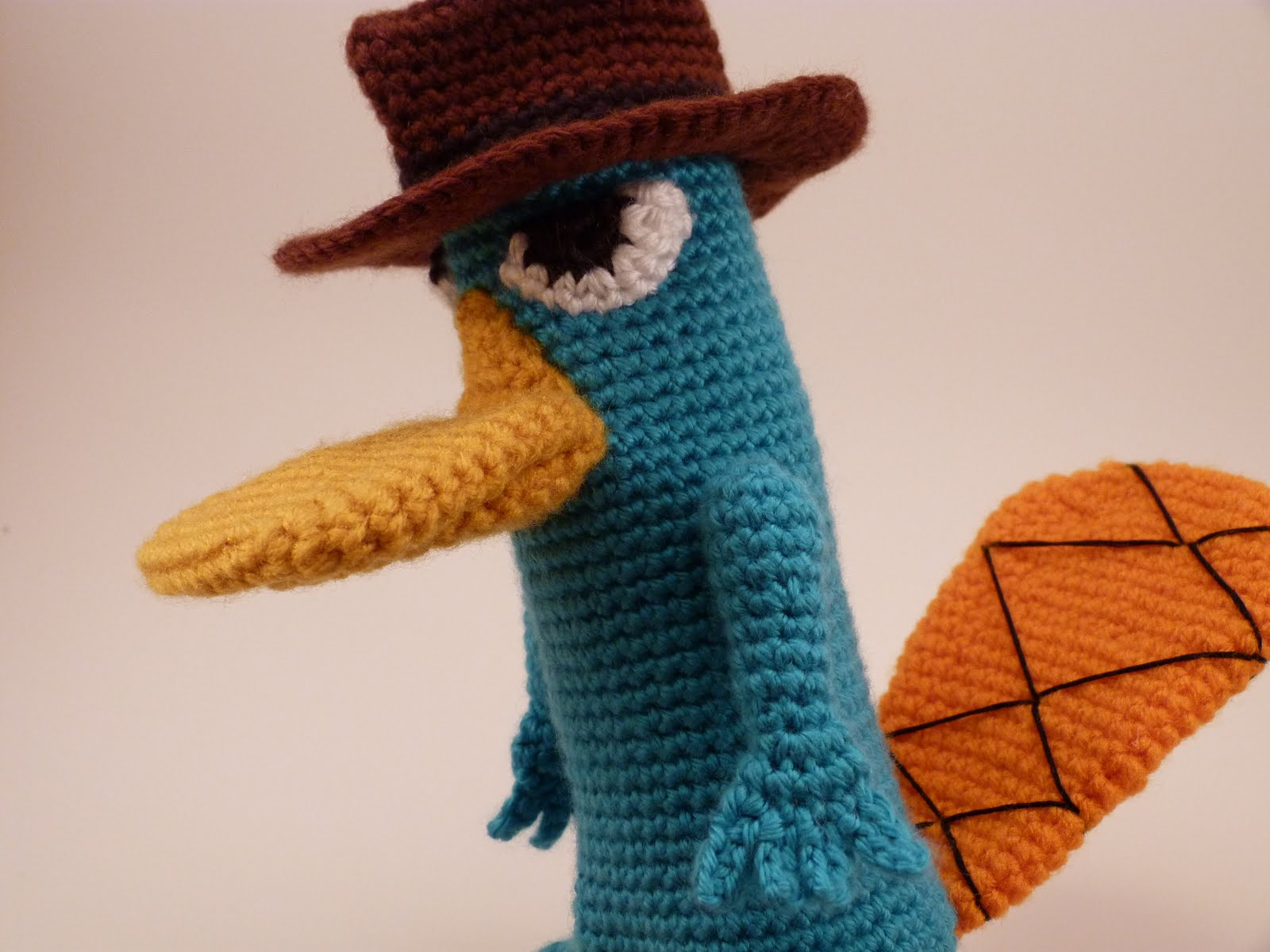 Wiggly Frog Crochet My First Design Perry The Platypus