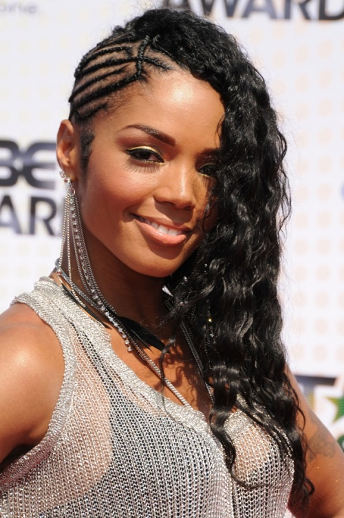 Pretty Braided Mohawk Hairstyles for Black Women