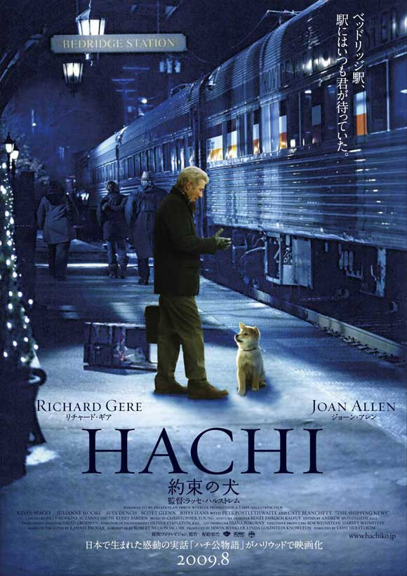 Hachi, A Dog&#39;s Tale (2009) Movie Review Hachi A Dogs Tale 2009 The APR Blog 580x821 Movie-index.com