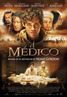 """Les recomendamos la adaptacion cinematografica de la novela histórica """"El médico"""" (The Physician) de Noah Gordon publicada en 1986."""