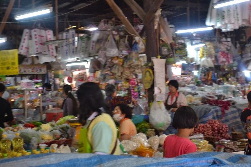 Thailande, Treck, marché local