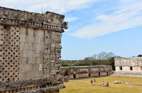 Uxmal en Yucatán,