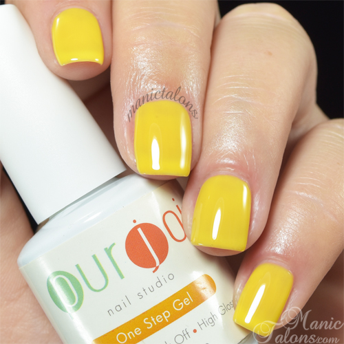 Purjoi One Step Gel Polish Lemon Candy Swatch