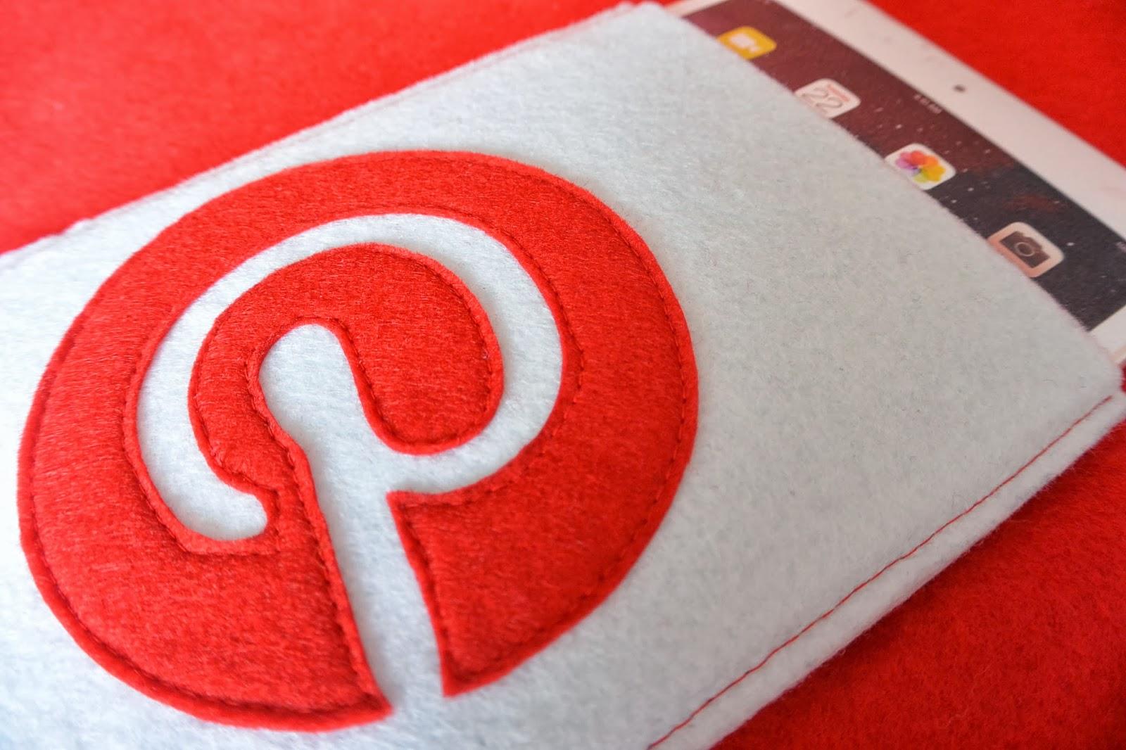 Housse en feutrine Pinterest pour votre iPad mini