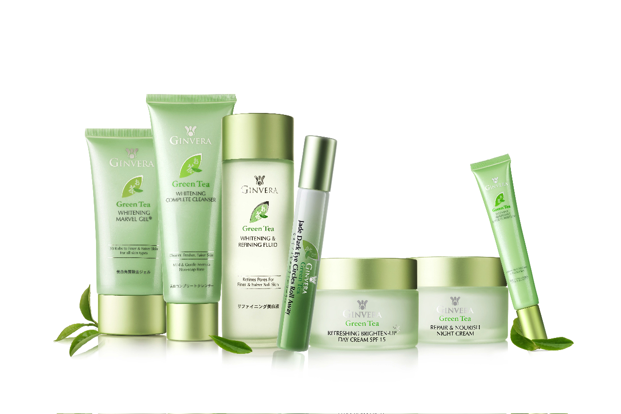 Wanted Green Tea Skin Care Products
