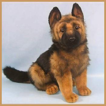 German Shepherd Stuffed Toy | Dog German Shepherds