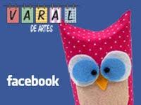 Varal de Artes no Facebook
