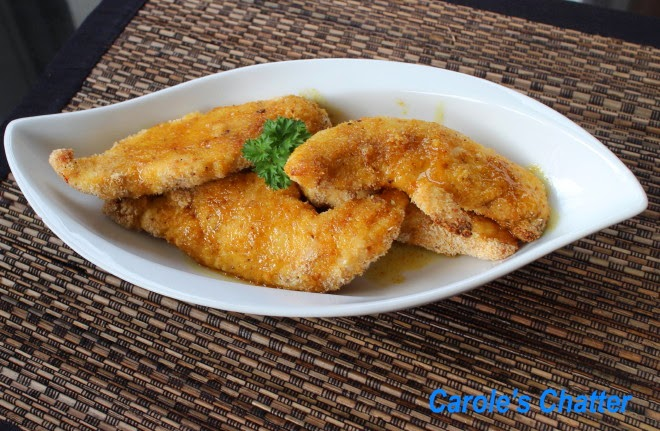 Carole's Chatter: Lemon Chicken Tenders with a hint of Curry