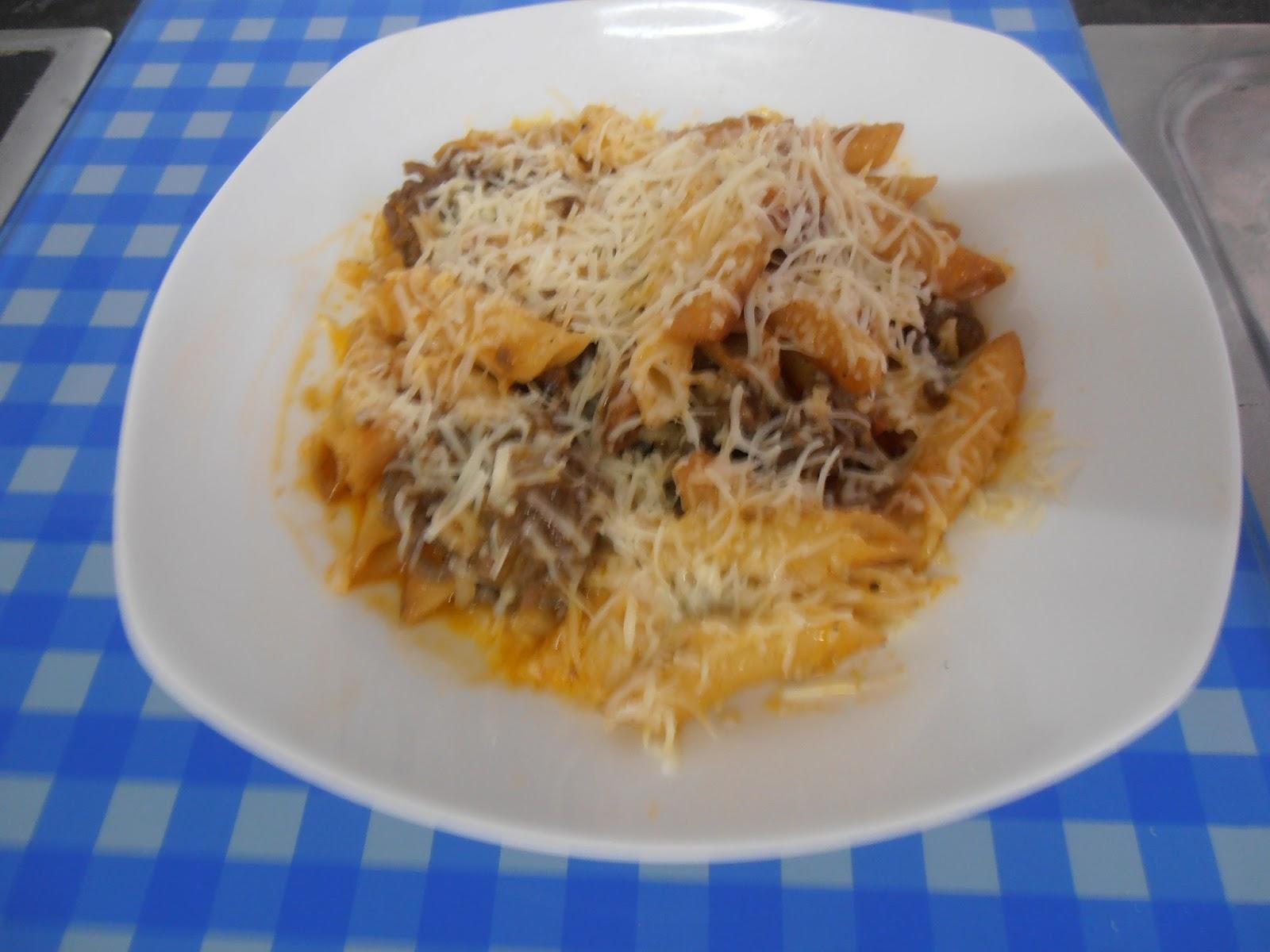Delikasero macarrones con carne al horno - Macarrones con verduras al horno ...