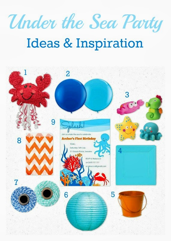 Under the Sea Party Ideas & Inspiration at Love That Party. www.lovethatparty.com.au