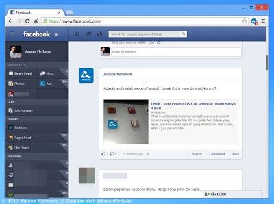 NewGenBook akan Menjadikan Paparan Facebook Anda Dengan Muka Baru