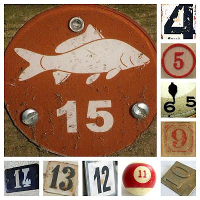 vintage numbers