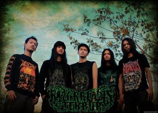 Razorblades Terror Band Technical Death Metal Surabaya