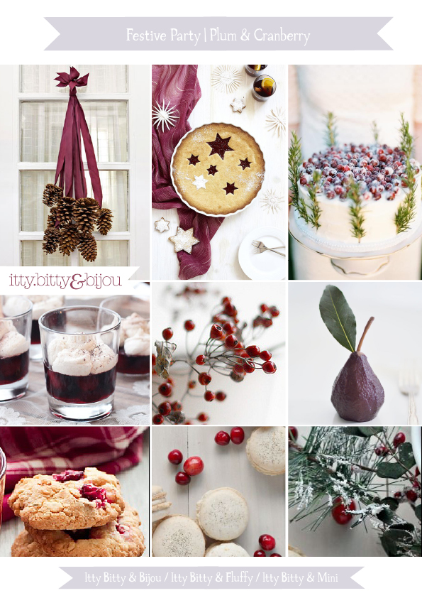 Christmas party ideas inspiration board