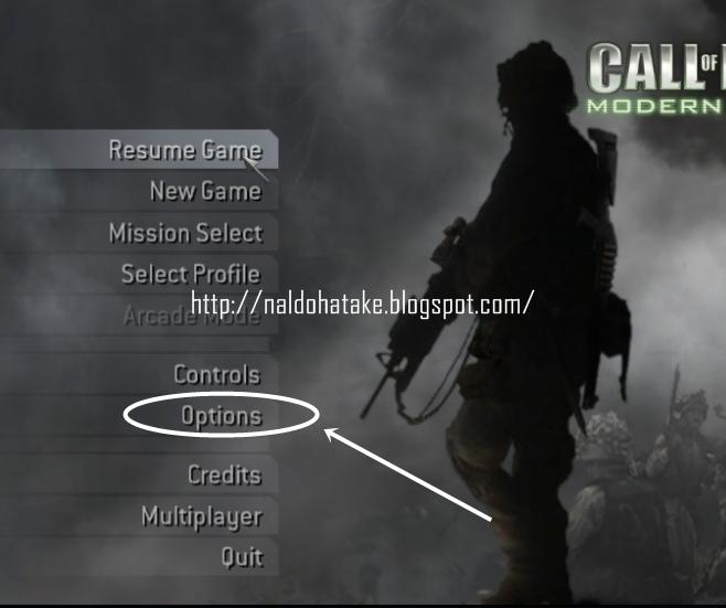 Cara Pasang Cheat Call Of Duty Modern Warfare 4 (Working)