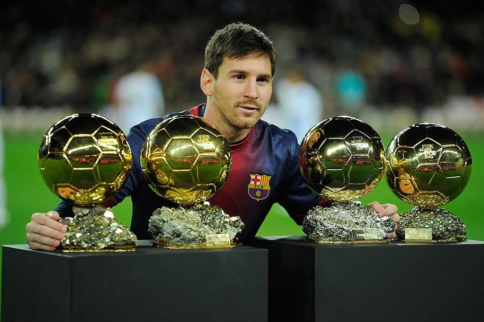 Kepopuleran Messi