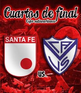 Vélez Sarsfield Vs Independiente Santa Fe – Partido de vuelta