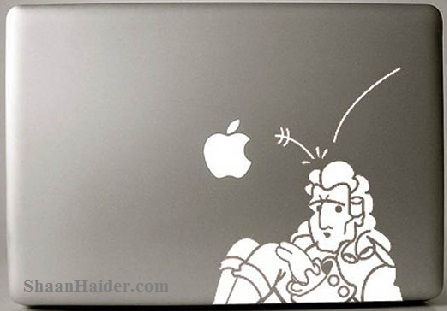 Newton MacBook Stickers and Decals
